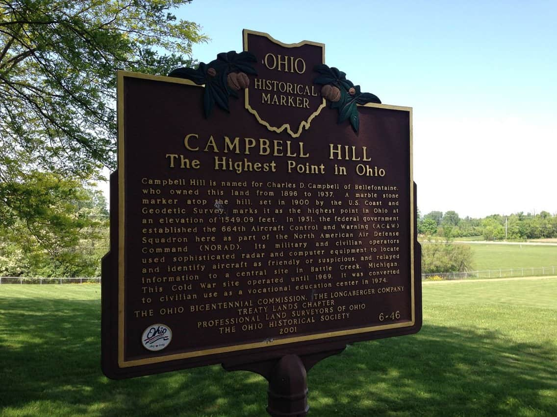 Highest Point in Ohio, Cambell High