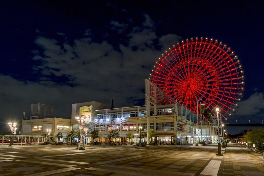 Tempozan Ferris Wheel Worlds largest ferris wheels