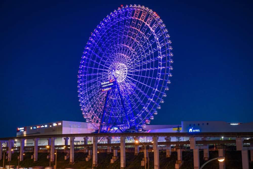 Red horse Ferris Wheel