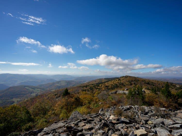 Spruce Knob, West Virginia - Highest Point in Virginia U.S