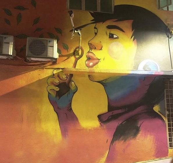 Kuala Lumpur, Malaysia Street art