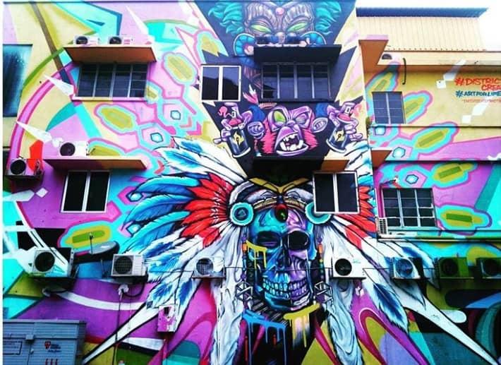 Jalan Imbi Street Art