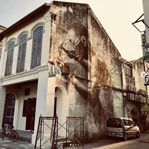 Jalan Panggung , Street art Malaysia