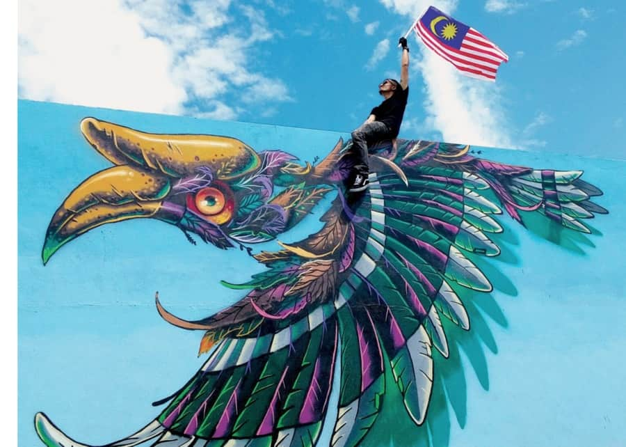 Kenji Chai Malaysia Street artist