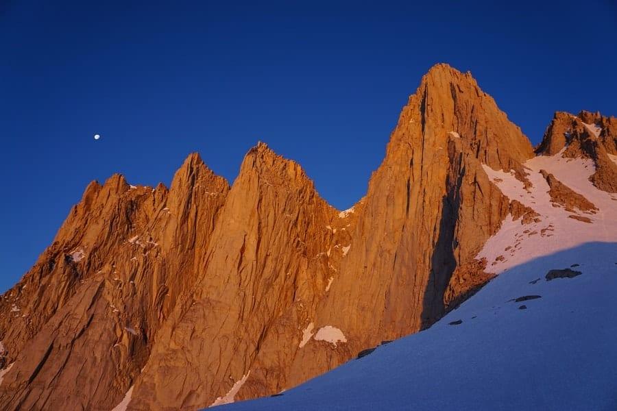 Mount Whitney, California. Highest peak in lower 48 states