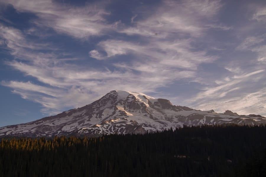 Mount Rainier, Washington.Highest Point in Washington.
