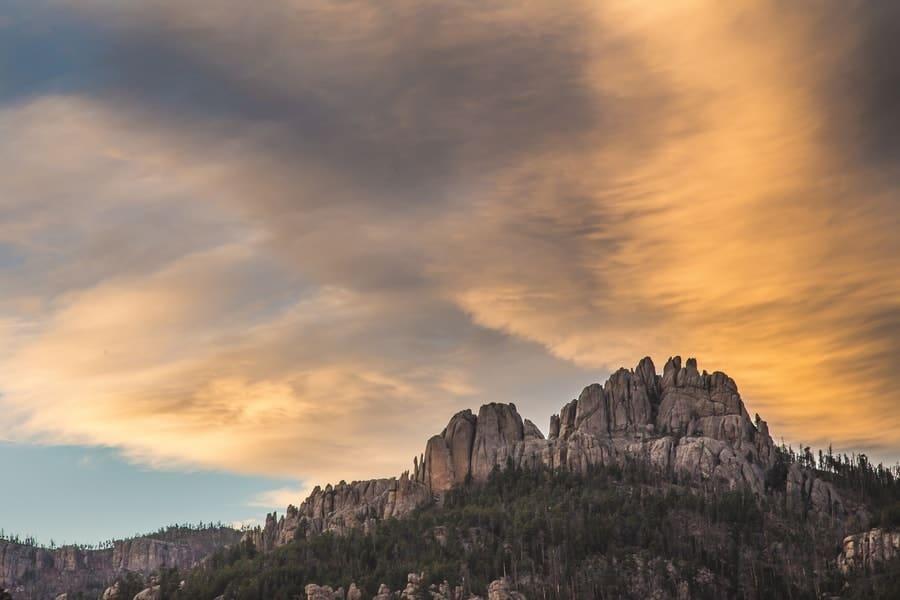 Black Elk Peak, South Dakota,