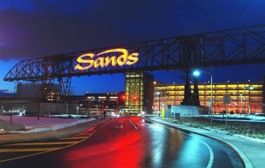 Sands Bethlehem casino, Pennsylvania.