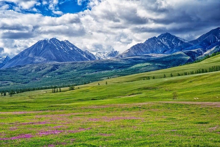 Stunning Mongolian Landscape