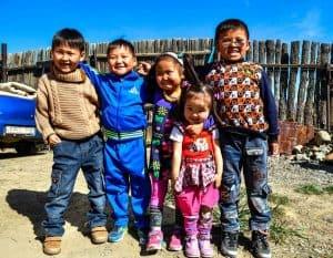 Mongolian Kids, People