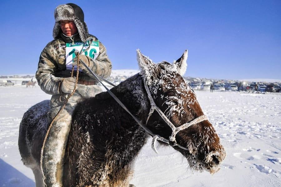 Mongolia Ice Festival Khuvsgul