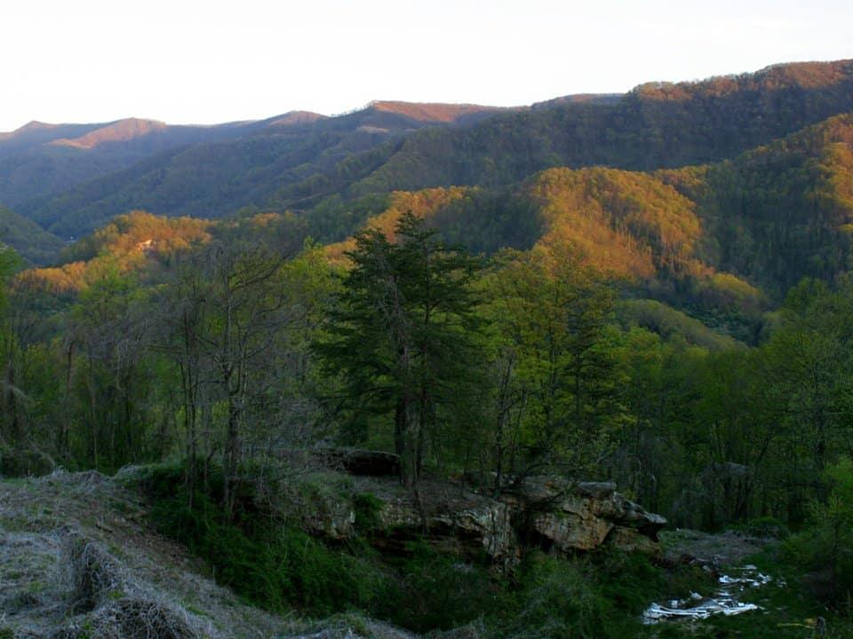Black Mountain, Kentucky. - Highest point in Kentucky, U.S.A