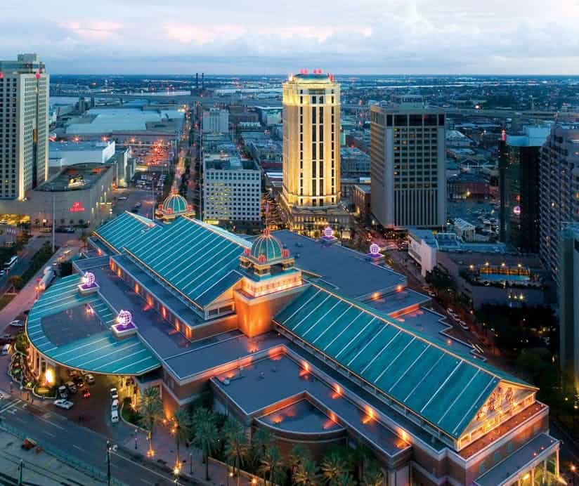 harrahs casino Louisiana.