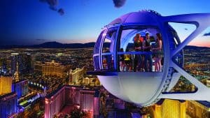 High Roller Worlds Tallest Ferris Wheel Las Vegas