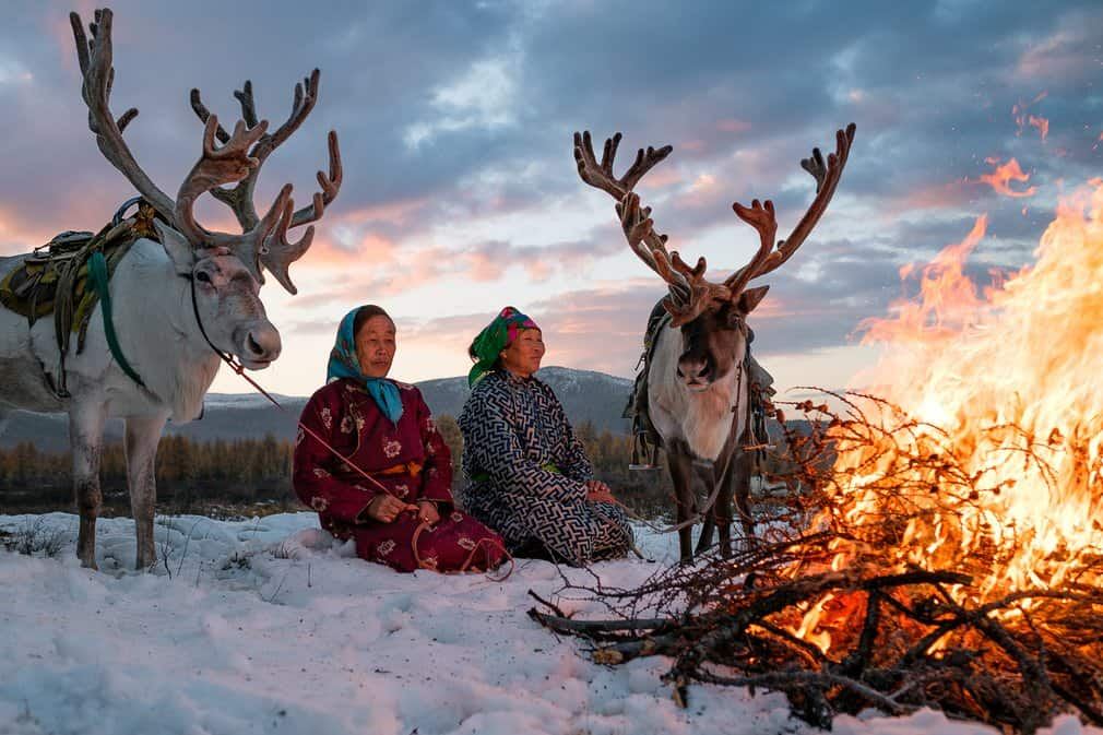 Reindeer Riding Mongolia