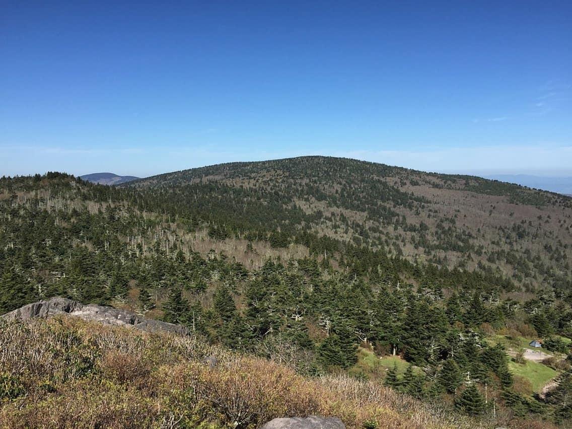 Mount Rogers, Virginia - Highest peak in Virginia.