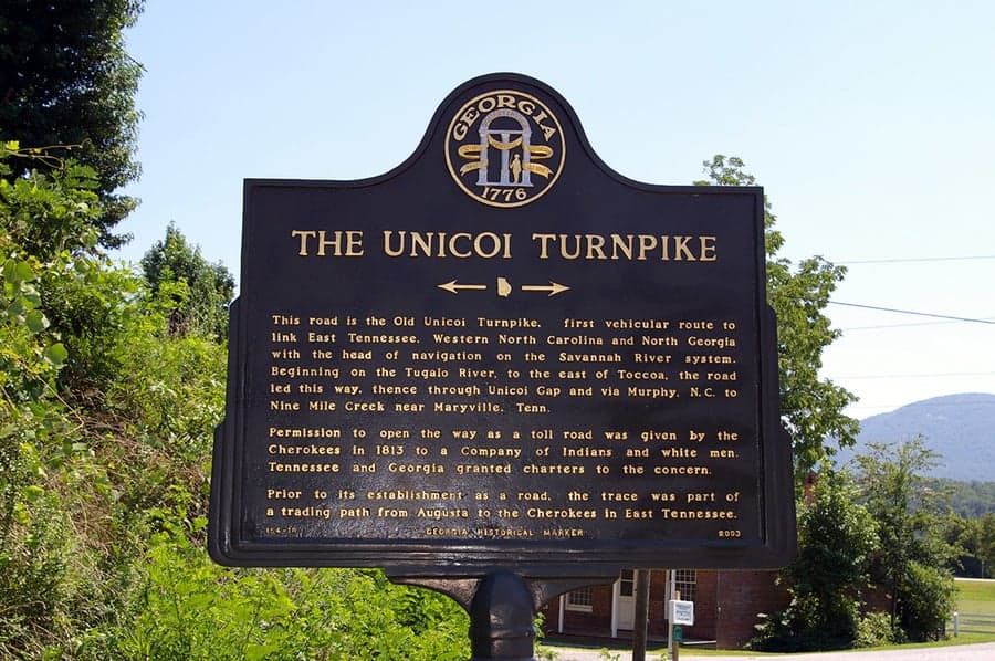 Unicoi Turnpike (Indian Trading Trail) A great National Millennium Trail