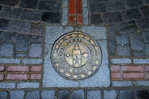 Boston Freedom Trail - A National Historic Trail. (National Millennium Trail)