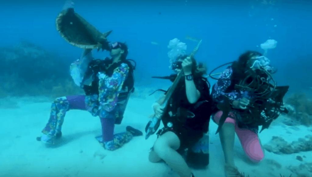 Florida Keys Underwater Music festival.