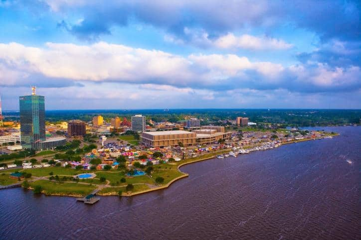 LakeCharles-Public-Transport-Road-Trip-USA