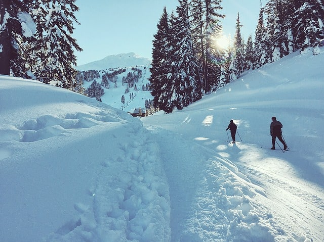 Cross-Country-Skiing-nordic- Schweitzer Mountain - Idaho
