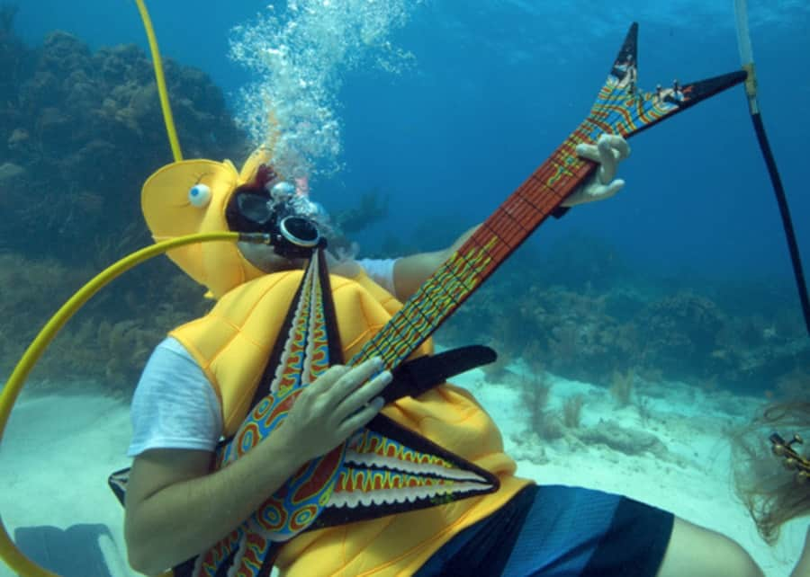 Florida Keys Underwater Music Festival Costume