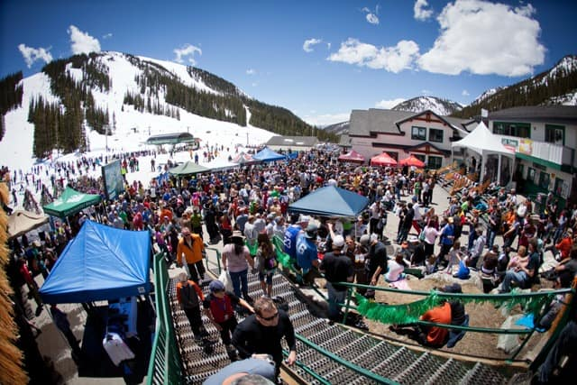 Arapahoe Basin, winter festivals
