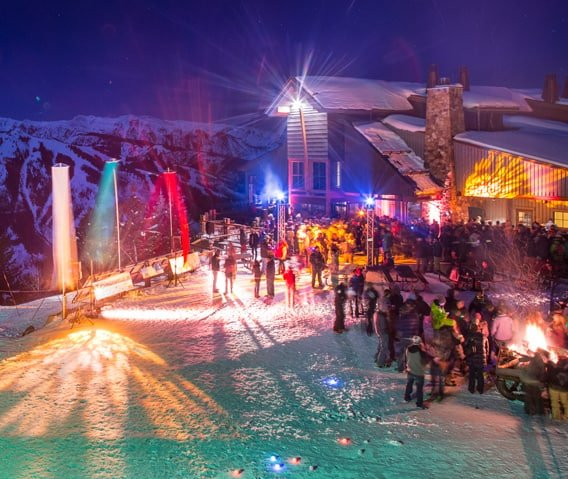 aspen mountain sundeck party m