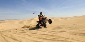 Oceano-Sand-Dunes, California.