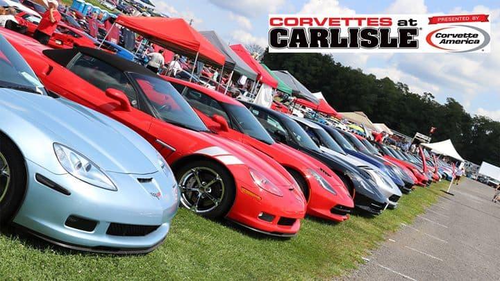 Corvettes at Carlise -Car/ Autoshow