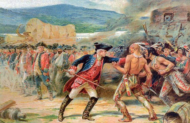 French Indian War - 13 Colonies History (Nike Betsy Ross Scandal)