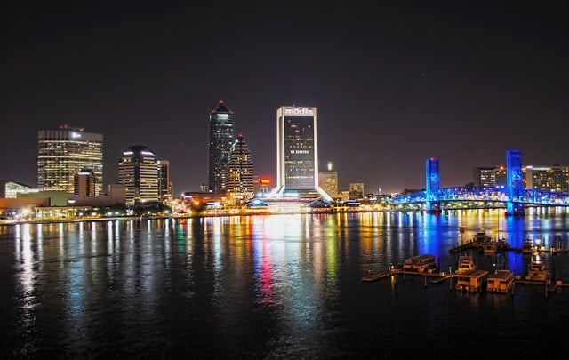 Jacksonville, Florida - Road trip with Bus