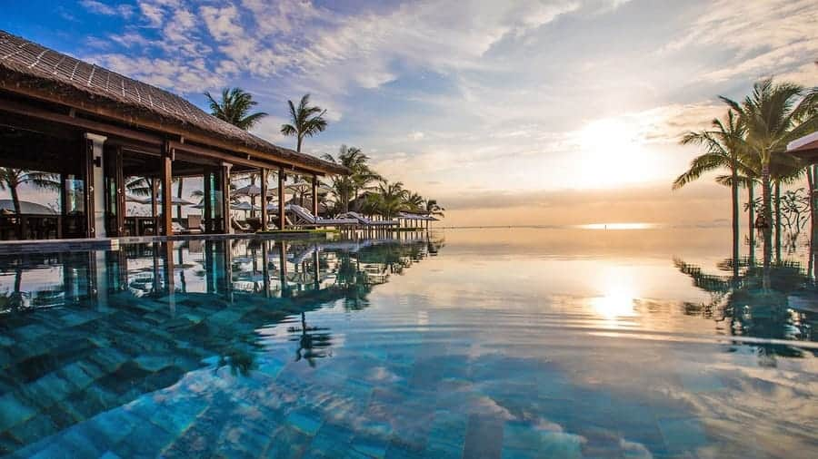 Anam in Cam Ranh - Vietnam infinity pool