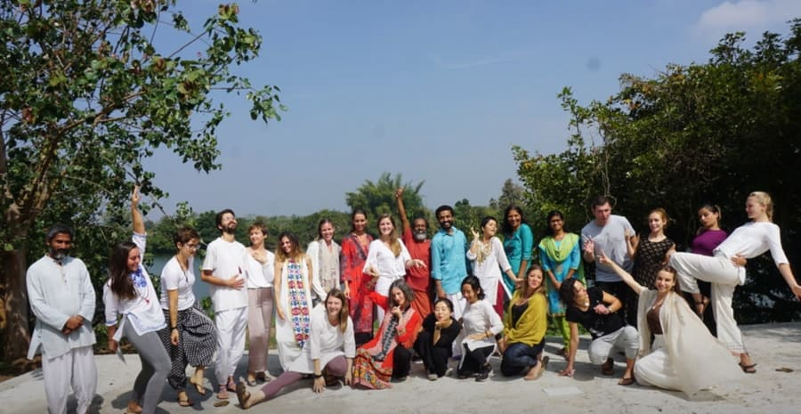 Ayuryoga Eco Ashram Karnataka india budget yoga retreats