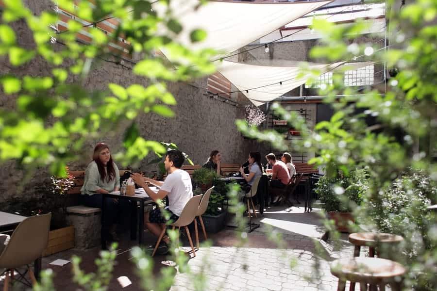 Café Pavlač Digital nomad workspace prague