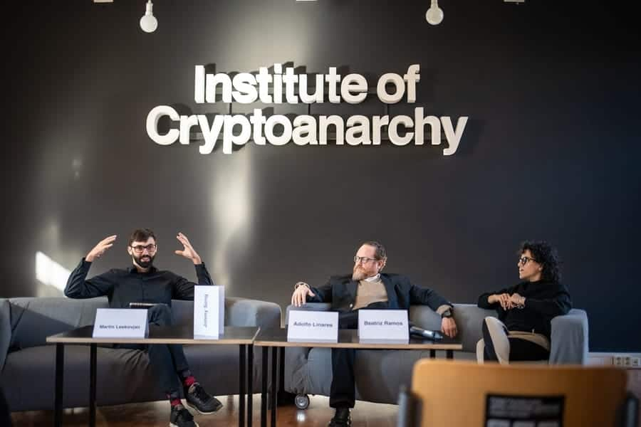 Crypto Anarchy Remote Working area