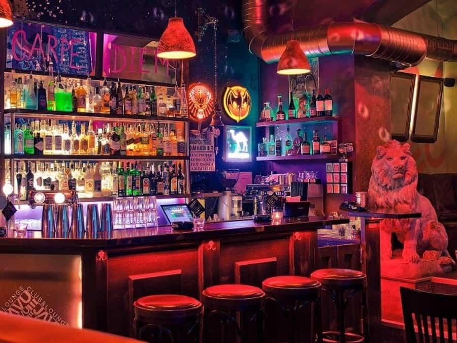 De Ja vu Bar Prague Best cocktail bars