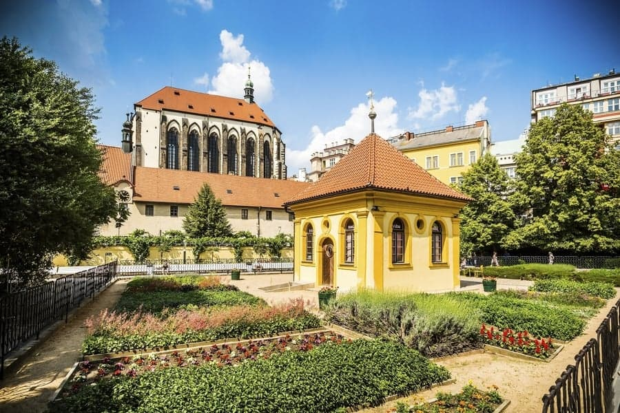 Franciscan Gardens prague1