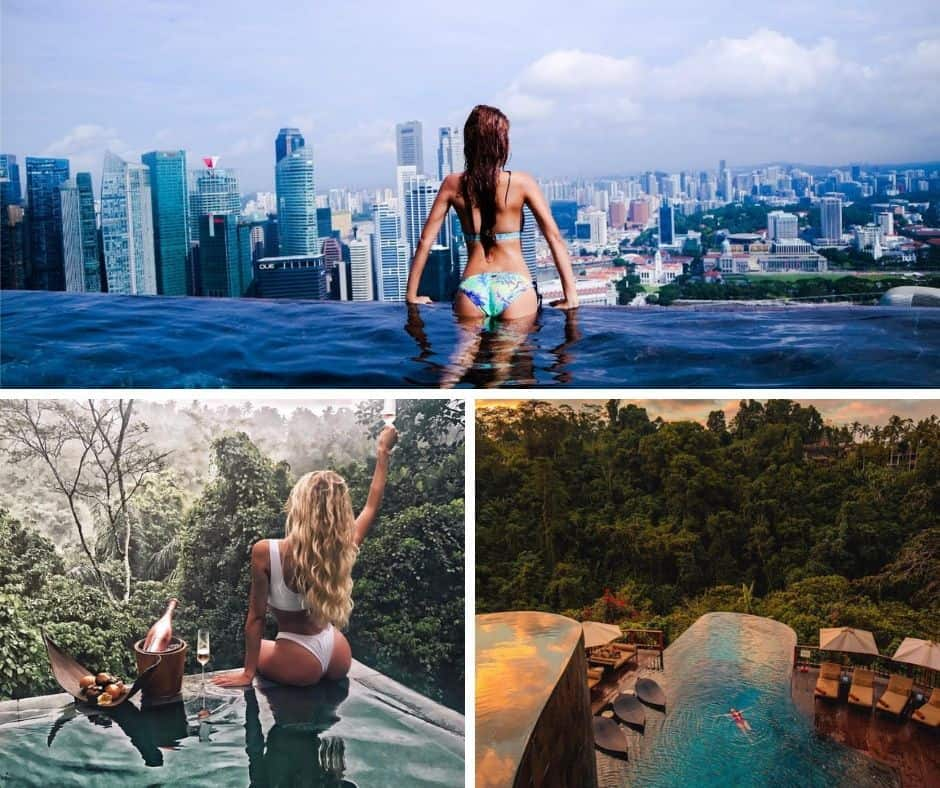 infinity pools south east asia