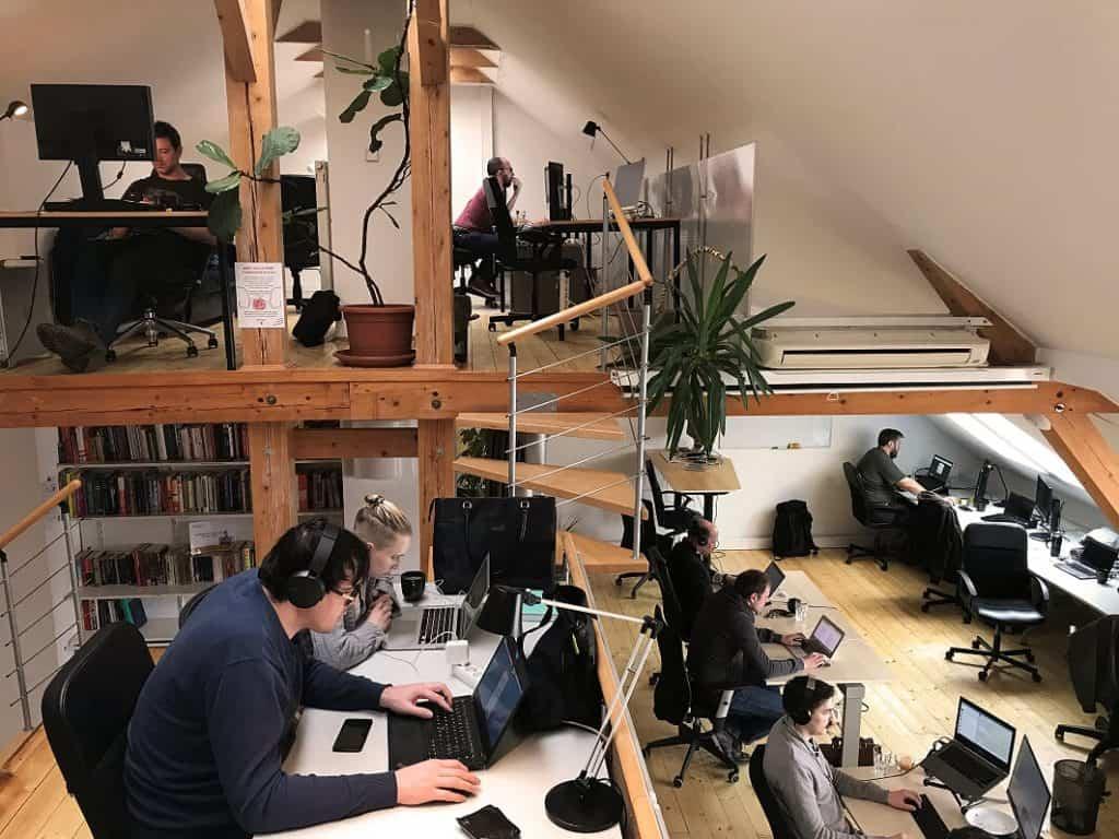 Locus Workspace Prague Digital Nomad