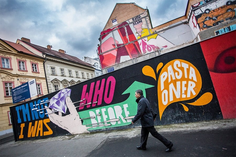 Pasta Oner Emblem Hotel Mural Prague-1