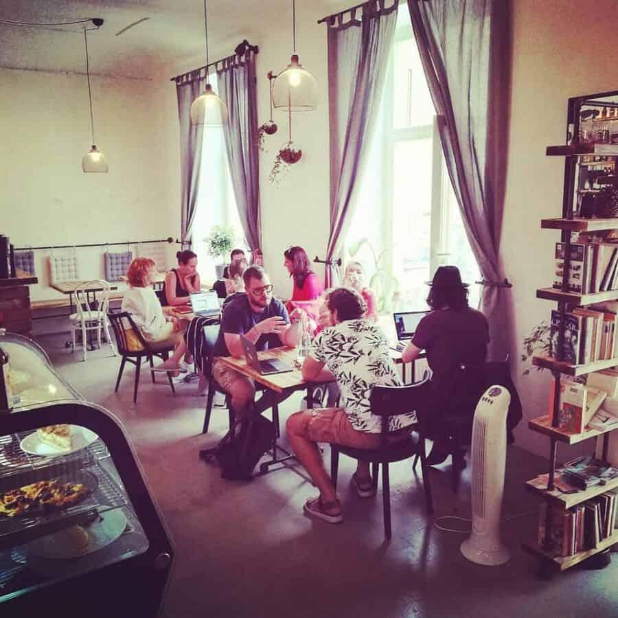 Pracovna Coffee Shop Prague