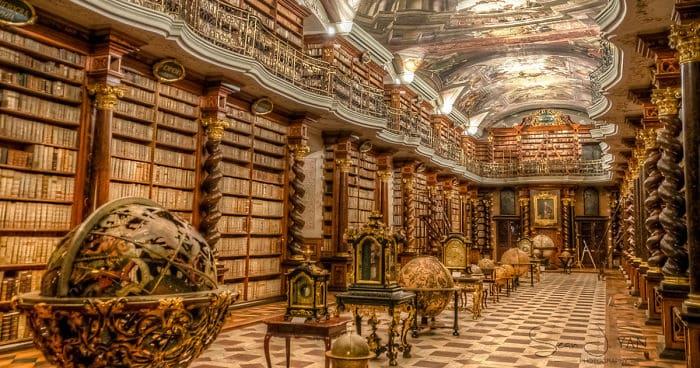 Worlds most beautiful library prague