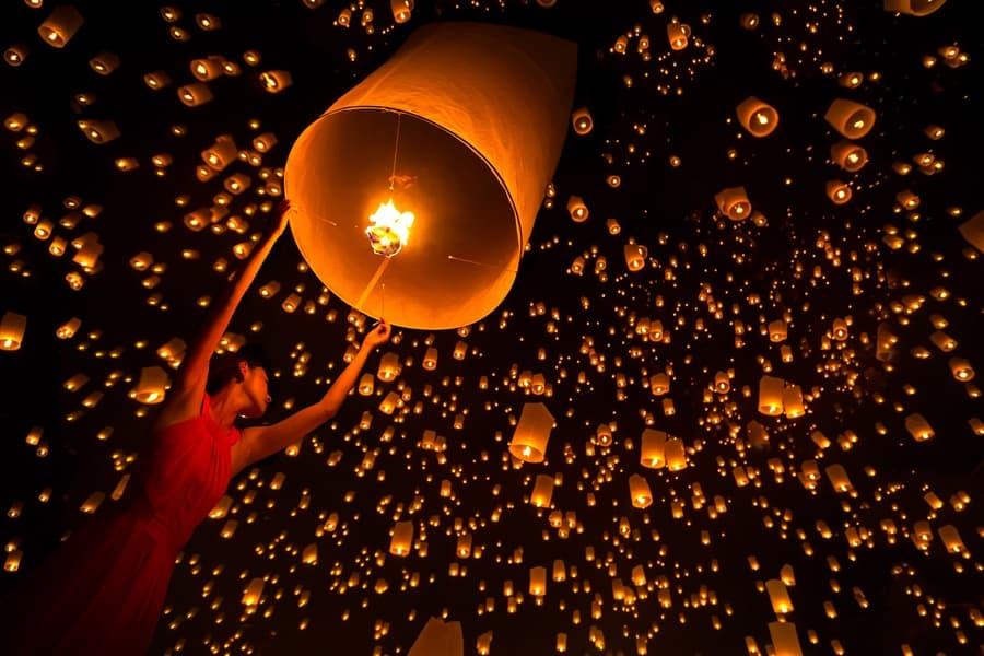 Awe Inspiring Chinese Lanterns at Moon Festival,