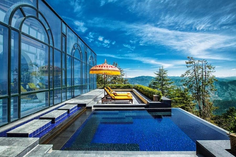 Wildflower Hall - Shimla, India-Infinity-Pool