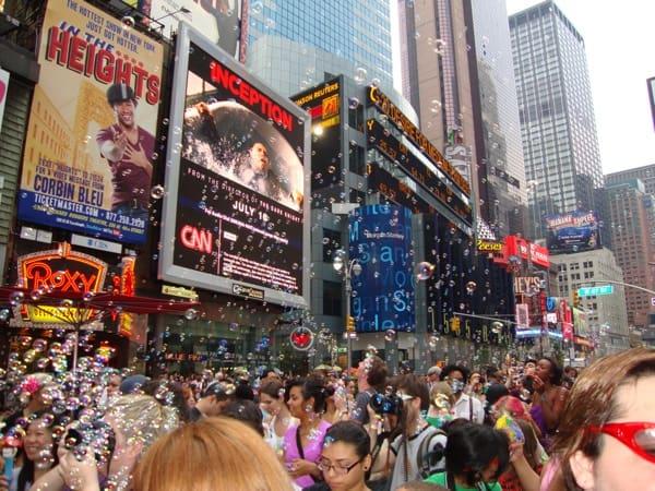 Bubble-battle NYC