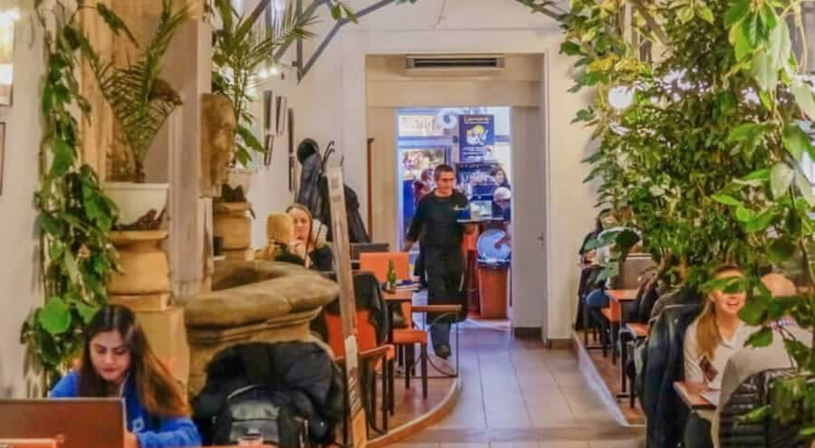 friends Coffee House Remote Working space prague