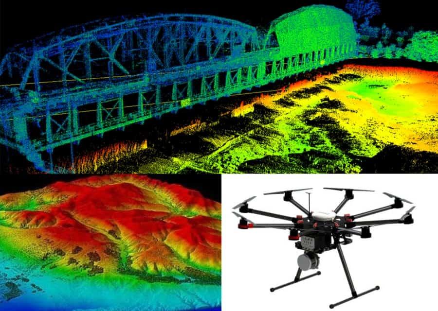 Aerial Drone LIDAR Survey Expo