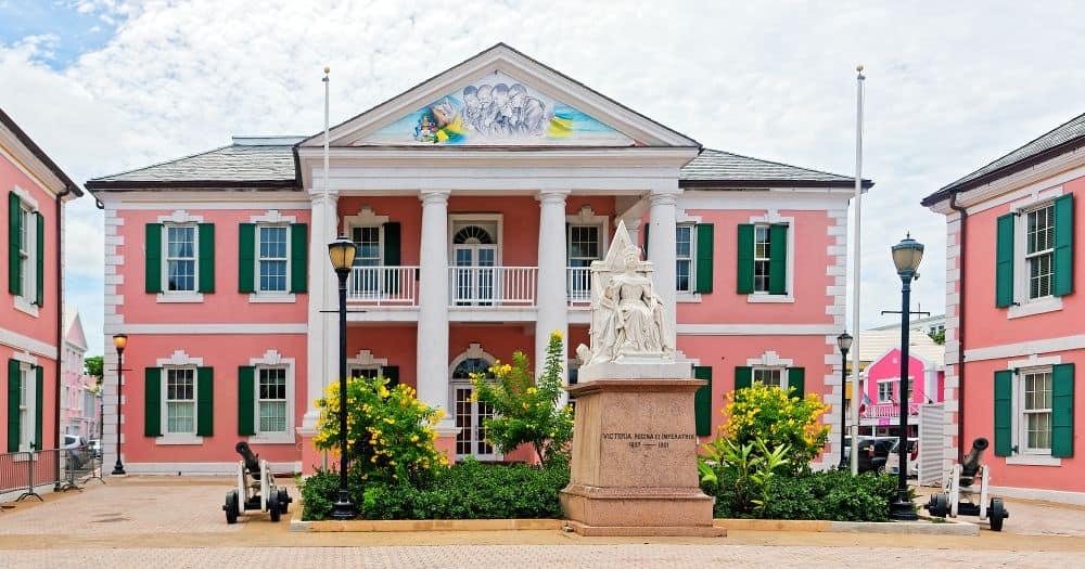 Bahamas Government House Free Tea - Bahamas Budget