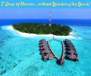 Budget Itinerary- 7 days-Maldives